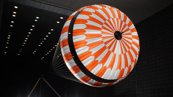 parachute for space rover
