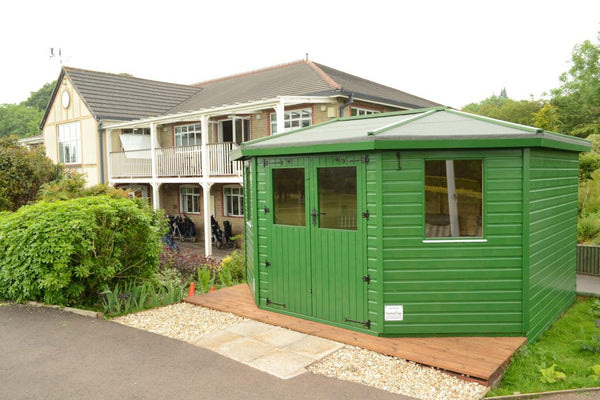 Bespoke hut for Wells Golf Club