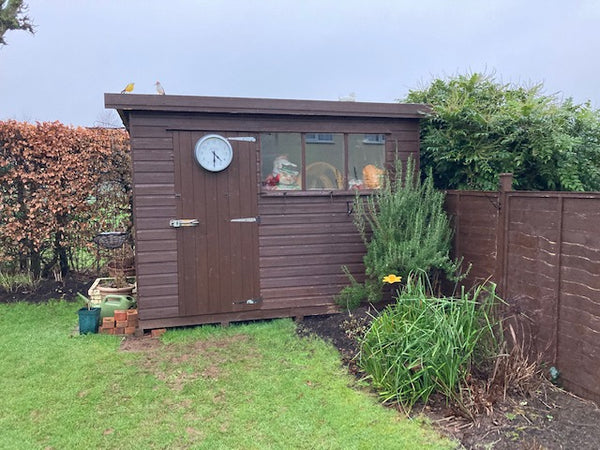 Garden shed in Somerset