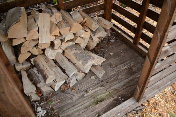 How to store kiln dried logs