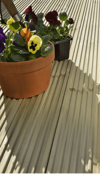 install timber decking