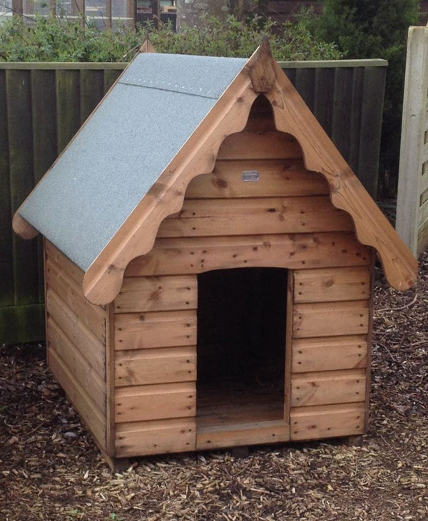 Wooden animal housing