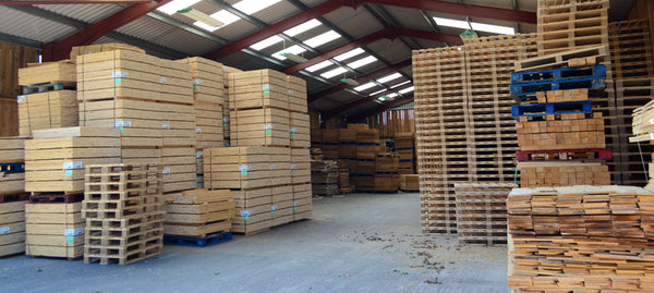 Pallet storage facility
