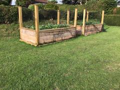 Top ideas for using railway sleepers in the garden