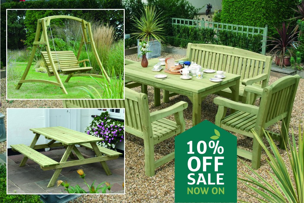 10% off Garden Furniture