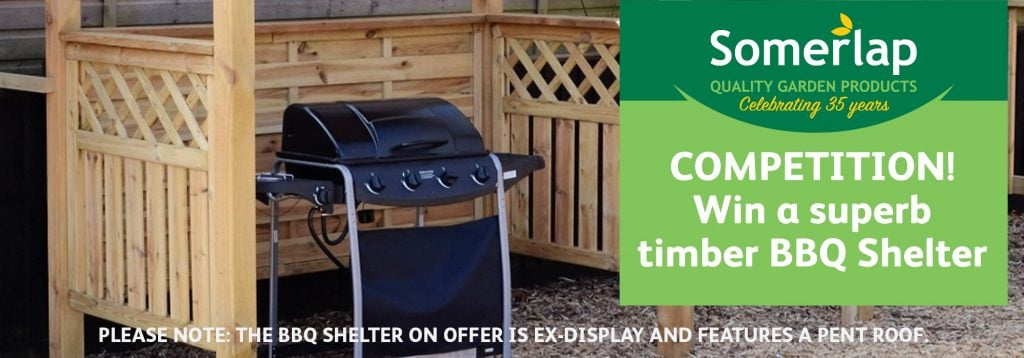 Win a BBQ shelter competition