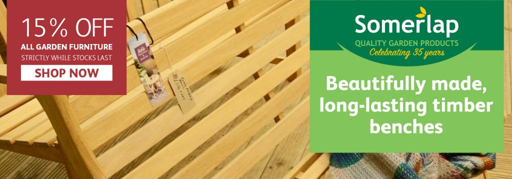 Long-lasting benches from Somerlap
