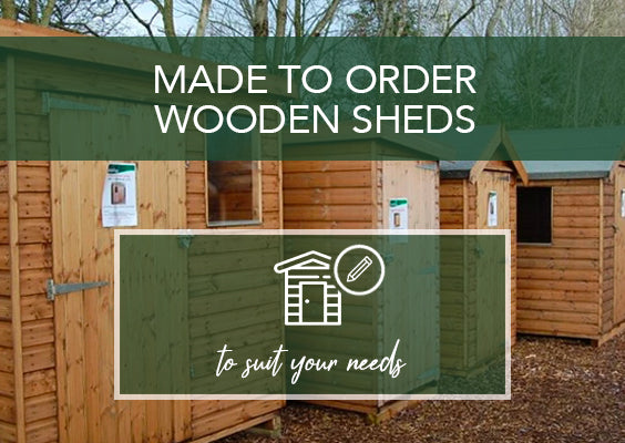 Made to order wooden sheds