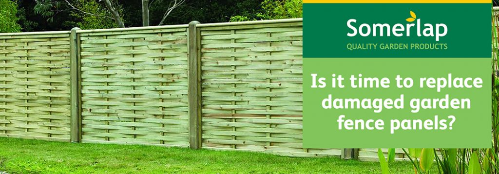 Somerlap New Fence Panels