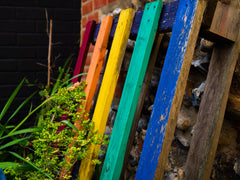 Painted Wooden Pallets
