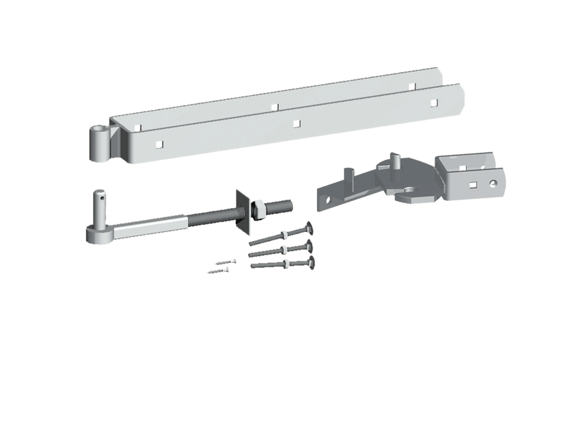 Rising Gate Hinge Set