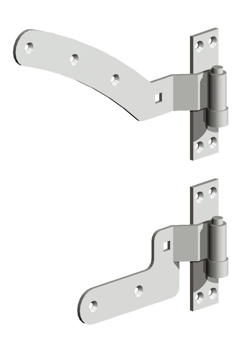 Curved Rail Hinge Set