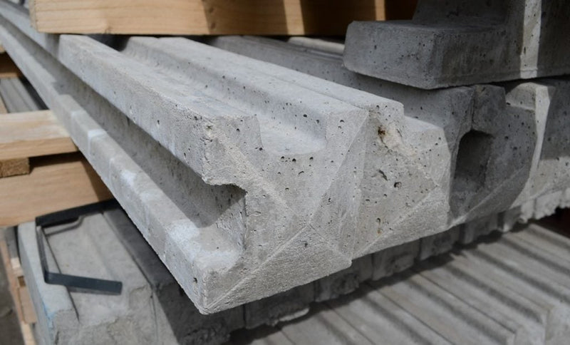 Slotted Concrete Corner Fence Post