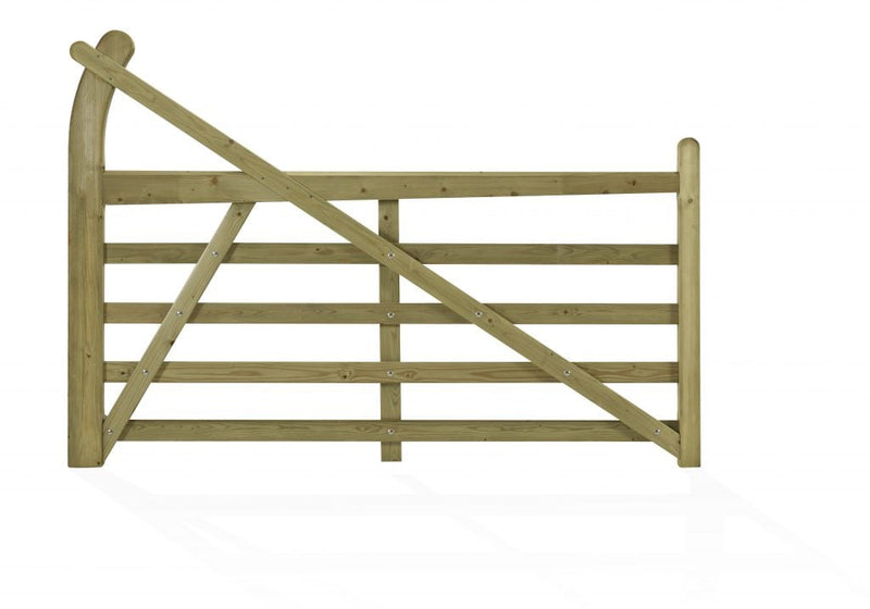 Softwood Five-Bar Estate Gate