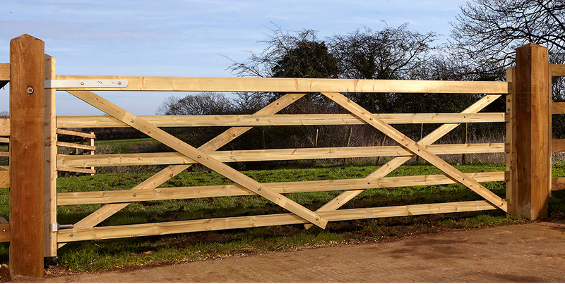 Forester 5 bar field gate