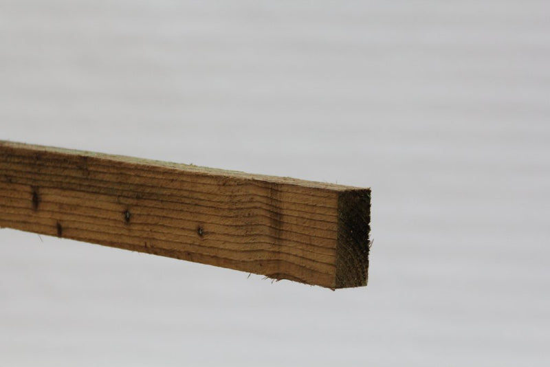 Fence Rail Square Sawn in Green