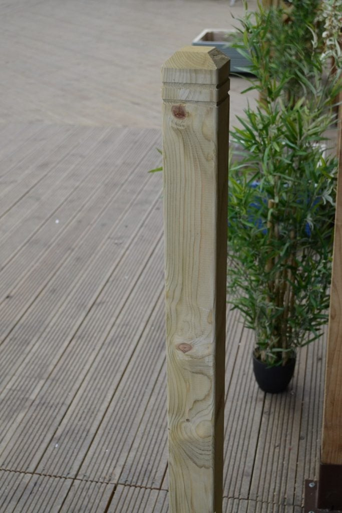 Patrice Newel Decking Post