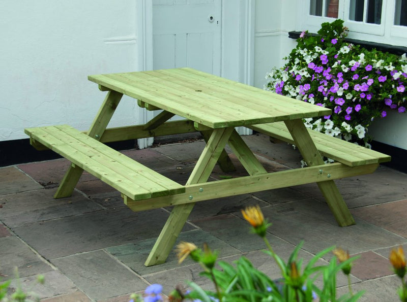 Wooden Picnic Bench - pressure treated