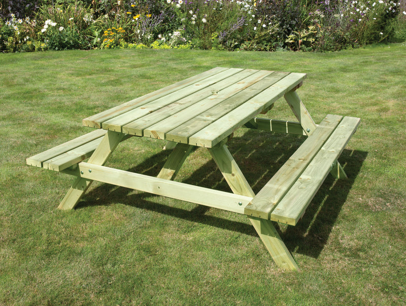 Standard Softwood A-Frame Picnic Bench