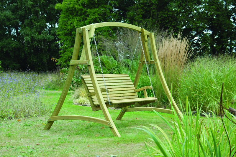 Outdoor Softwood Garden Swing Seat