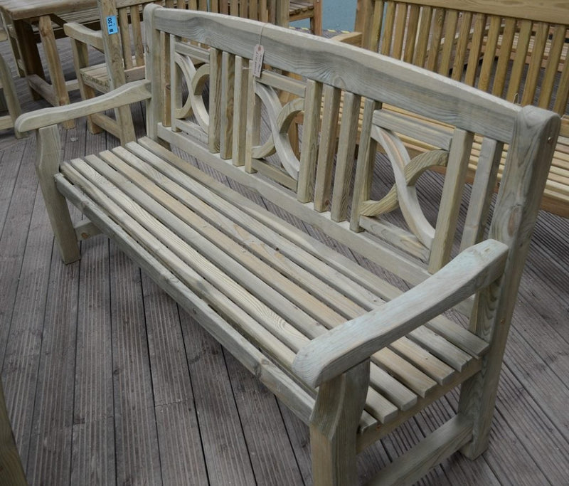 Tudor Softwood Bench