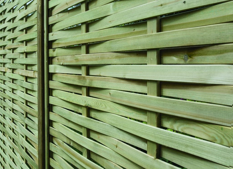 Somerlap fence panels