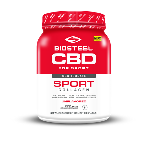 BioSteel CBD Isolate Sport Collagen Powder