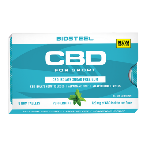 BioSteel CBD Sugar-Free Peppermint Gum