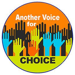 Another Voter For Choice Pin