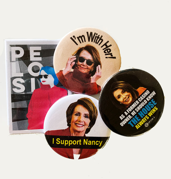 Nancy Pelosi Collector Set of 4 pins