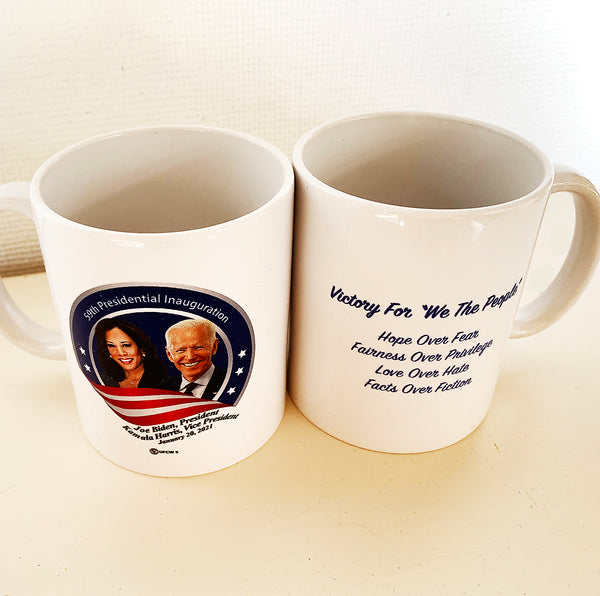 Biden-Harris Commemorative Mug