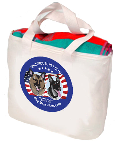 White House Pet Club Tote/Pet Go Bag