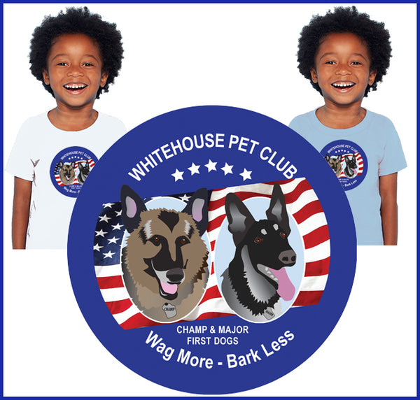 White House Pet Club Tee for Children