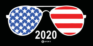 Biden Shades Bumper Sticker