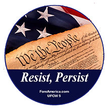 Resist, Persist Pin