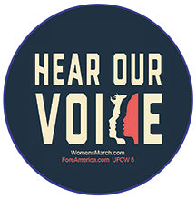 Hear Our Voices Pin