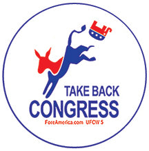Take Back Congress Pin