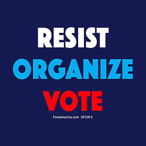 Resist, Organize, Vote Magnet