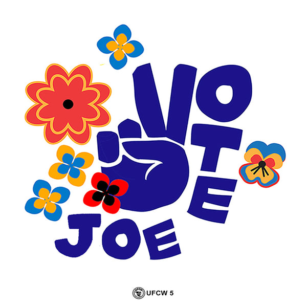 Vote Joe Bumper Sticker