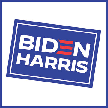 Biden-Harris Victory Window Sign