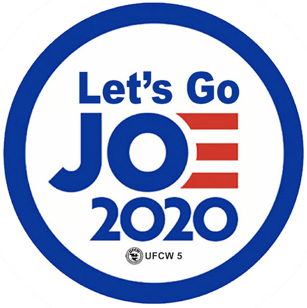 Let's Go Joe Bumper Sticker