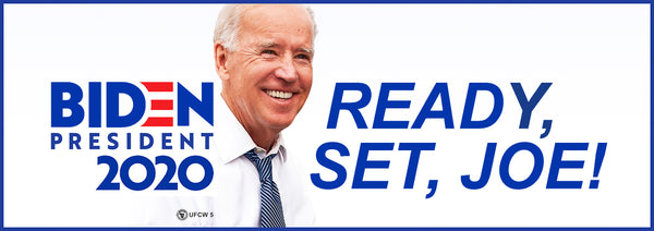 Ready, Set, Joe Bumper Sticker
