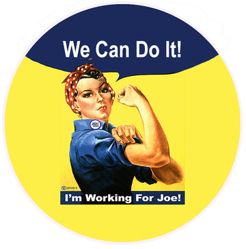 We Can Do It Bumper Sticker