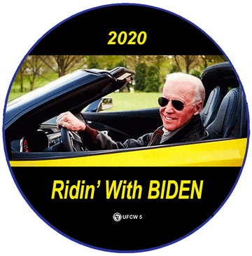 Ridin' With Biden Pin