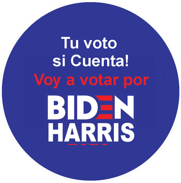 Tu voto, si cuenta (My Vote Counts)Pin