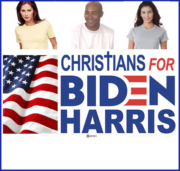 Christians for Biden Tee