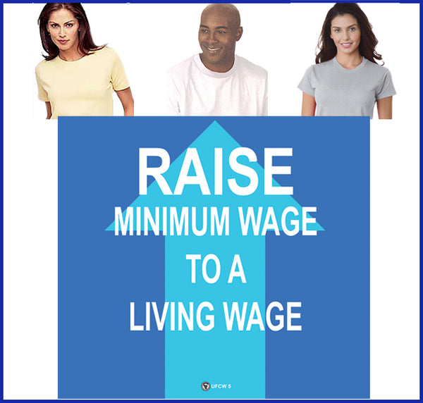 Raise The Minimum Wage Tee
