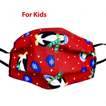 Snow Fun Kids Mask