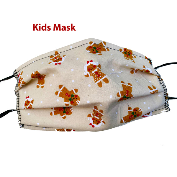 Ginger Bread Cookies Kids Mask
