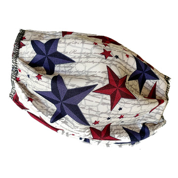 Red & Blue Stars Mask
